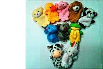 בובות אצבע בעלי חיים